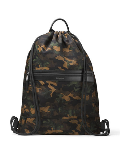 michael kors male kent camouflage backpack