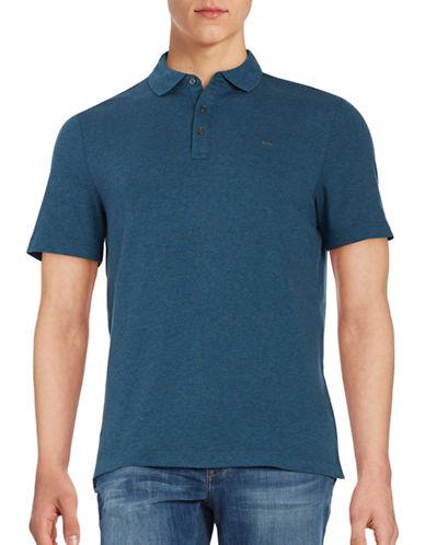 michael kors male cotton polo shirt
