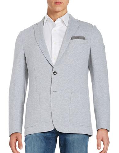 michael kors male cottonblend knit jacket