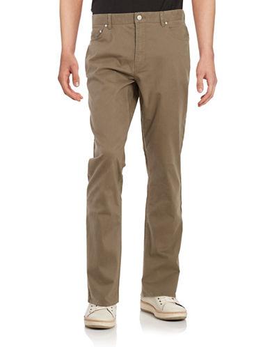 michael kors male fivepocket stretch cotton pants
