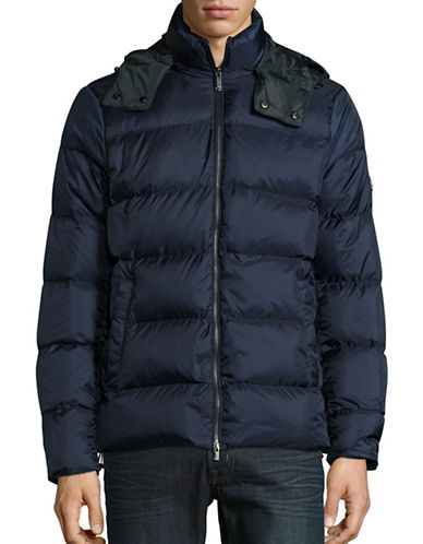 michael kors male quilted duck down puffer jacket