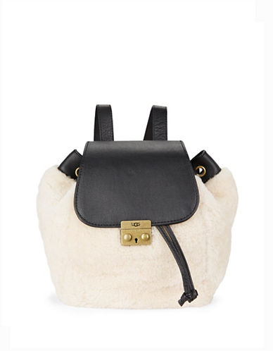 ugg australia female nat shearling backpack