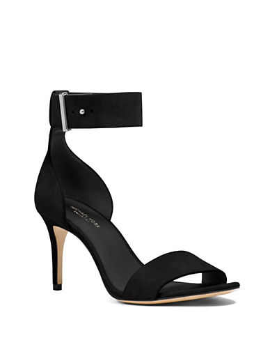 michael kors female 188971 ames suede sandals