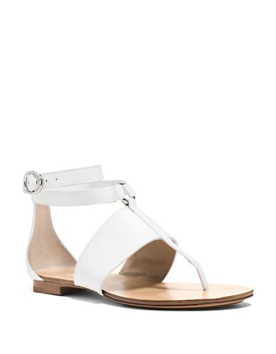 michael kors female 45883 candice vachetta leather sandals