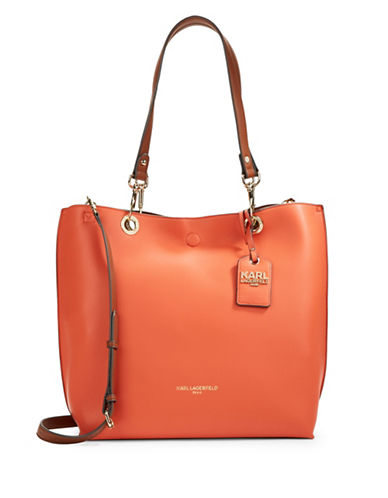 Bell Reversible Faux Leather Tote