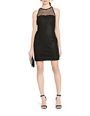 sequined lace dress lord taylor