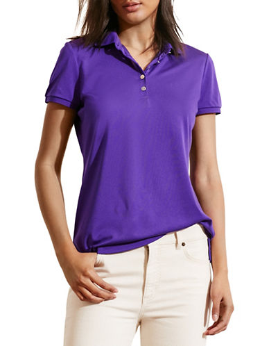 ralph lauren female 248826 monogram polo shirt