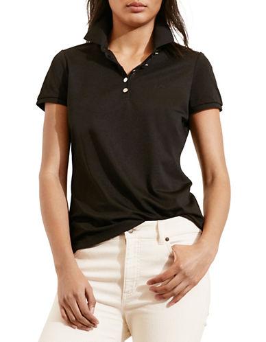 ralph lauren female 188971 monogram polo shirt
