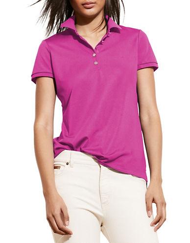 ralph lauren female 243279 monogram polo shirt