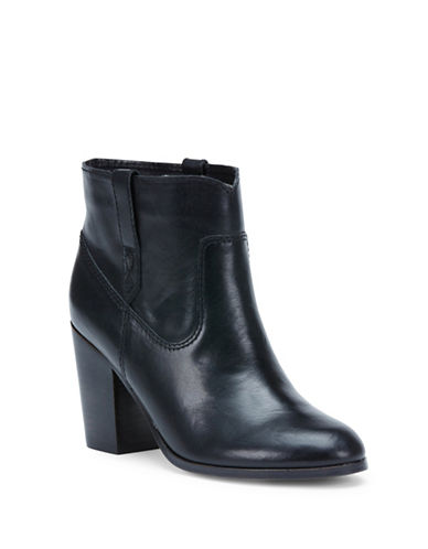 Buy Myra Leather Ankle Boots by Frye online