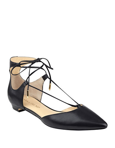 Buy Tavyn Leather Flats by Ivanka Trump online