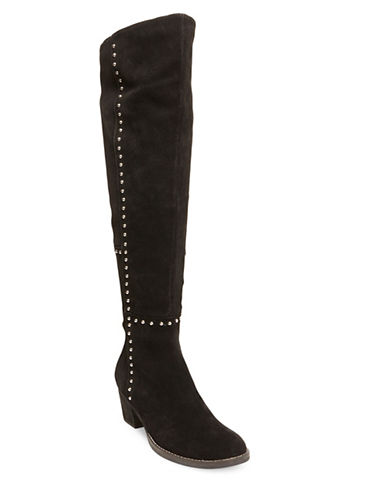Odel Suede Studded Over-The-Knee Boots | Lord & Taylor