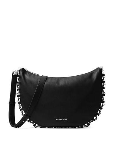 michael michael kors female leather crossbody bag