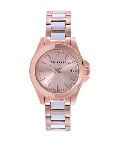 TED BAKER Ladies Classic Charm Two Tone Watch