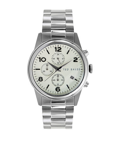 TED BAKERMens Stainless Steel Chronograph Watch