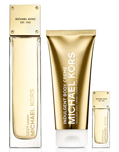 michael kors female deluxe holiday set 14800 value