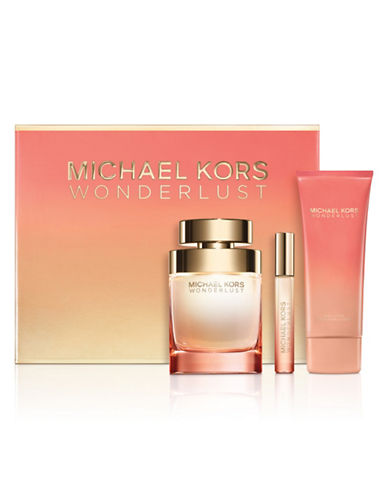 michael kors female wonderlust threepiece gift set 16800 value