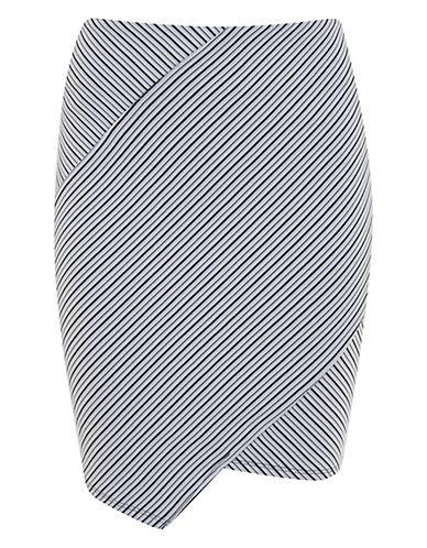 MISS SELFRIDGEDiagonal Striped Knit Skirt