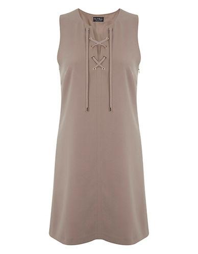 MISS SELFRIDGELace-Up Shift Dress