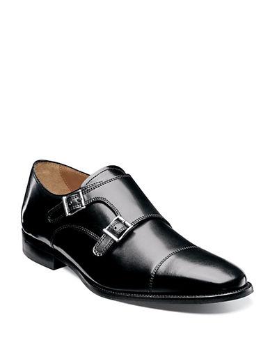 FLORSHEIMSabato Leather Monk-Strap Loafers
