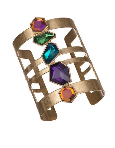 Sam Edelman Multi Stone Cuff Bracelet