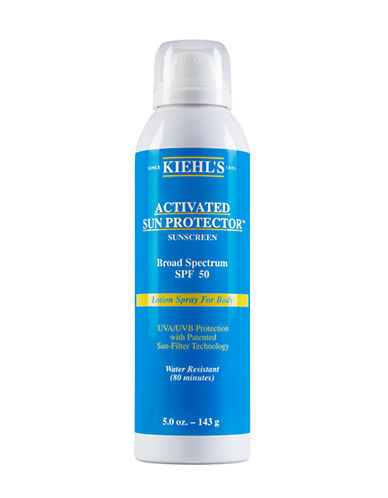 Kiehl'S Since 1851 Activated Sun Protector Spray Lotion for Body SPF 50