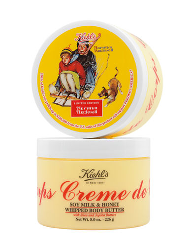 KIEHL'S SINCE 1851 Creme de Corps Soy Milk and Honey Whipped Body Butter 8oz
