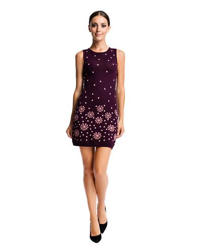CECE BY CYNTHIA STEFFENorth Polka Dot Knit Sheath Dress
