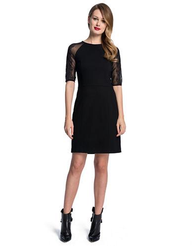 CYNTHIA STEFFEShawn Chiffon A Line Dress