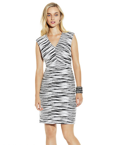 Shop Vince Camuto online and buy Vince Camuto Space Dyed Sheath Dress dress online