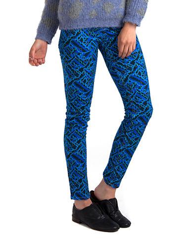 CALLADenim Memphis Lily Print Pants