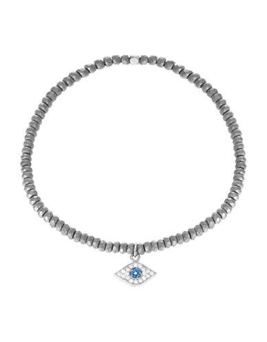 TAI RITTICHAIEvil Eye Charm Stretch Bracelet