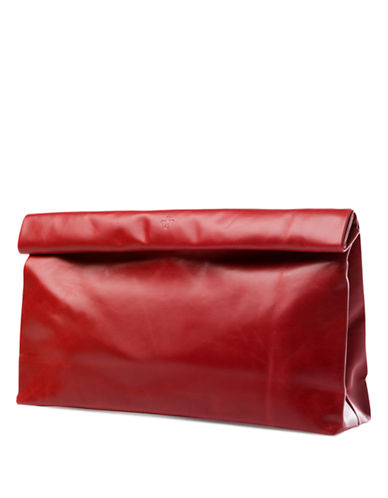 MARIE TURNORLeather Dinner Bag Clutch