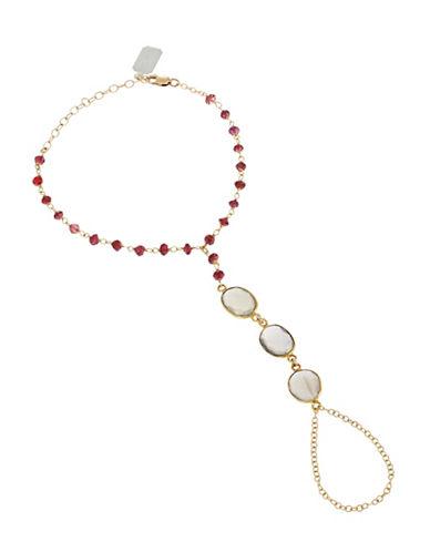 ELA RAEClara Hand Chain Ring Bracelet