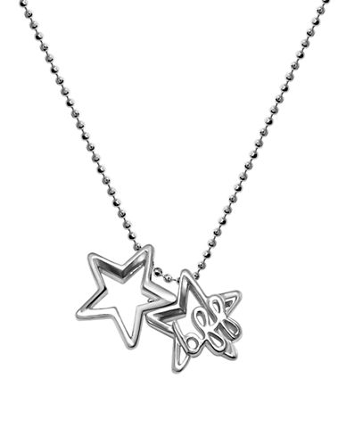 ALEX WOOLittle Words BFF Stars Sterling Silver Pendant Necklace