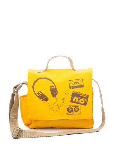 brika female 270507 retro mixed tape messenger bag