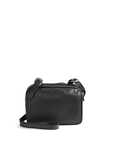 f9b1af2037ef ... Bag Black Leather Adjustable Shoulder Strap EAN 4051436169102 product  image for Liebeskind Berlin Triple-Zip Leather Flap Crossbody