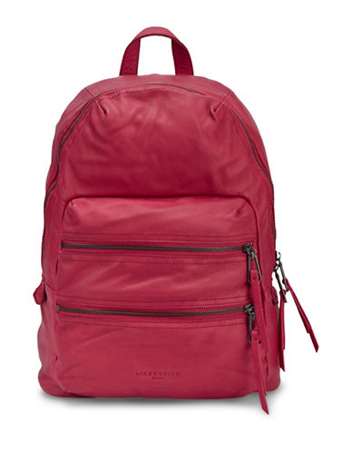 liebeskind berlin female saku leather backpack