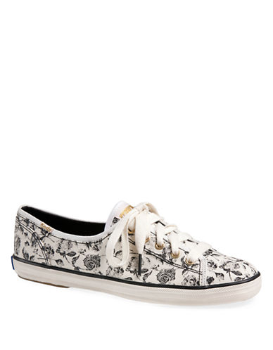 KEDS Rally Floral Print Sneakers