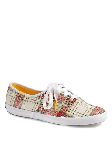 KEDS Champion Plaid Sneakers
