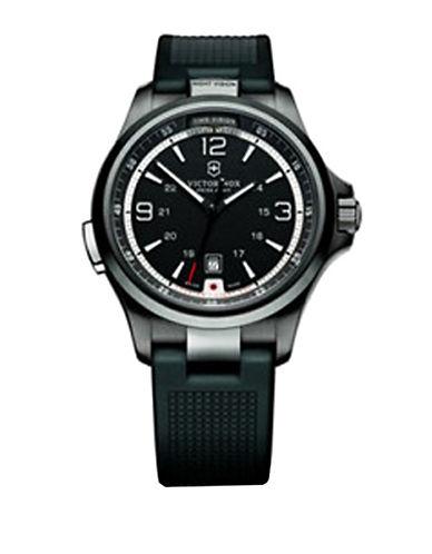VICTORINOX SWISS ARMYMen's Black Stainless Steel Watch