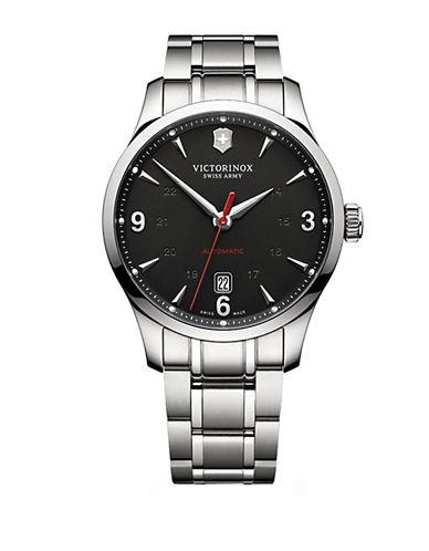 VICTORINOX SWISS ARMYMens Alliance Mechanical Stainless Steel Watch