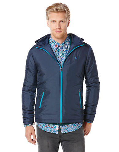 ORIGINAL PENGUIN Insulated Windbreaker Jacket
