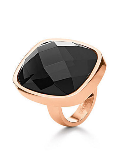 FOLLI FOLLIE Elements Rose Gold-Plated Crystal Ring
