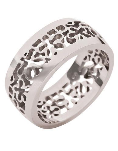 FOLLI FOLLIESilver Floral Cocktail Ring