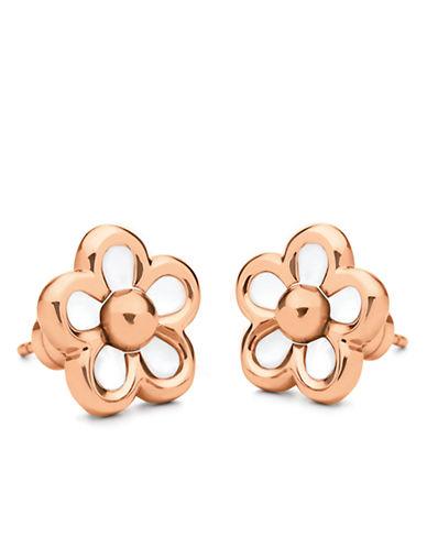FOLLI FOLLIERose Gold-Plated Follie Di Fiori Stud Earrings