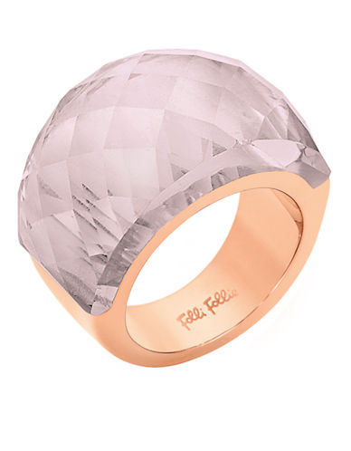 FOLLI FOLLIE Elements Rose Gold-Plated Ring