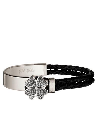 FOLLI FOLLIEHeart4Heart Silver-Plated Bonding Bracelet