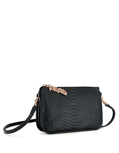 FOLLI FOLLIE Reflections Embossed Crossbody Bag