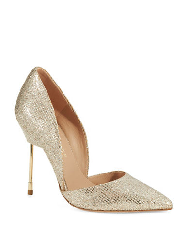 KURT GEIGER LONDON Bond Glitter Pumps